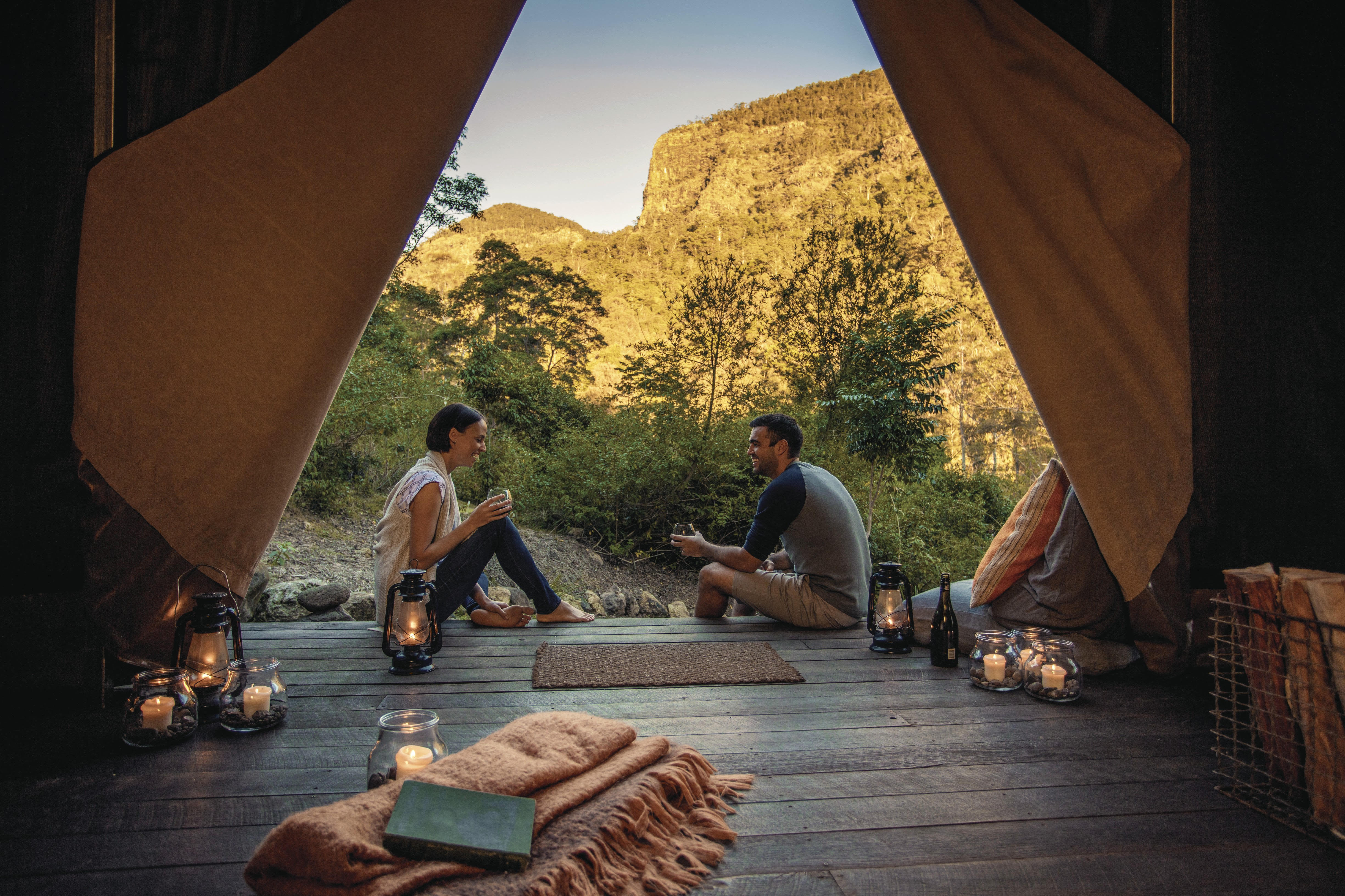 queensland-glamping-tent-view